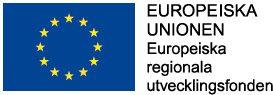 Logga Europiska regionala utvecklignsfonden