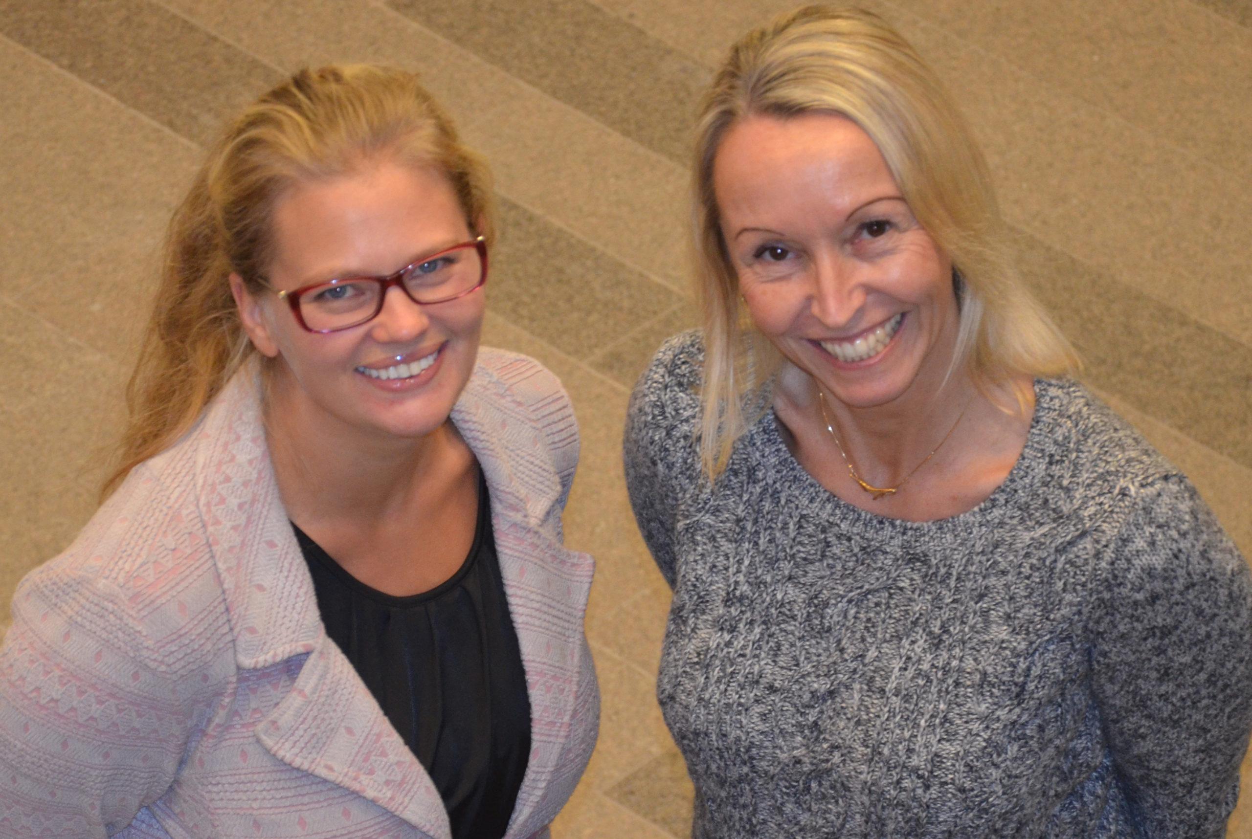 Elenor Olofsson och Elisabeth Jonsson